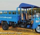 Waw diesel multi functional, 22hp engine,hydrualic tipper, 3-4 tons