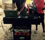 DJ Spinning Machine Set