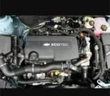 Chevy cruze engine parts