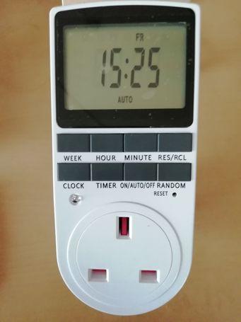 Digital Timer Plug Switch