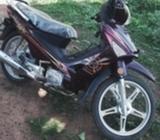 Slightly used Haojue motorbike for sale