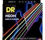 DR Strings Hi-Def NEON Multi-Color Electric Guitar Strings