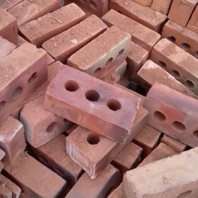 Burnt bricks and tiles