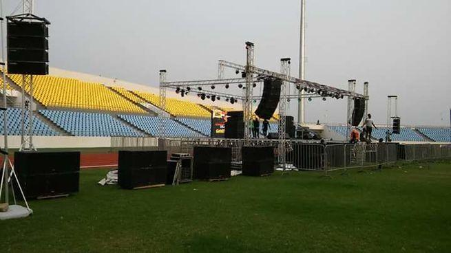 Stage, Trusses, Lights and Sound Rental