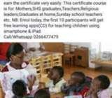 Early child education course