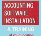 Accounting Software Installation & Training at your Location