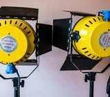 2K lights for Video