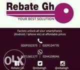 Rebate IPhone factory unlocking