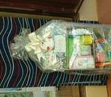 A complete baby hamper
