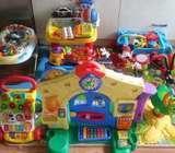 Sacks of toys