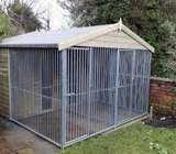 Customised steel cages for dogs